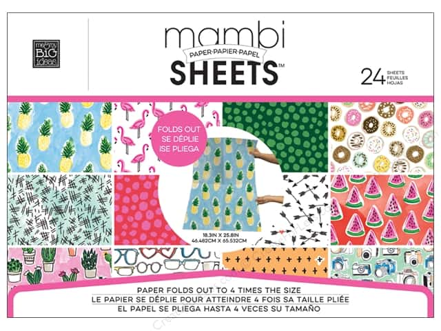 "MAMBI Sheets Paper Pad 18.3""x 25.8"" Sketchbook"