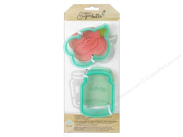 American Crafts Sweet Sugarbelle Cookie Cutter Set Country Rose
