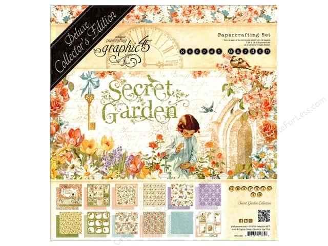 Graphic 45 Deluxe Collectors Edition Secret Garden