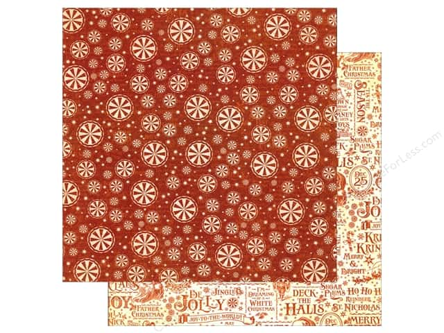 Graphic 45 12 x 12 in. Paper St Nicholas Sweet Tooth (25 sheets)