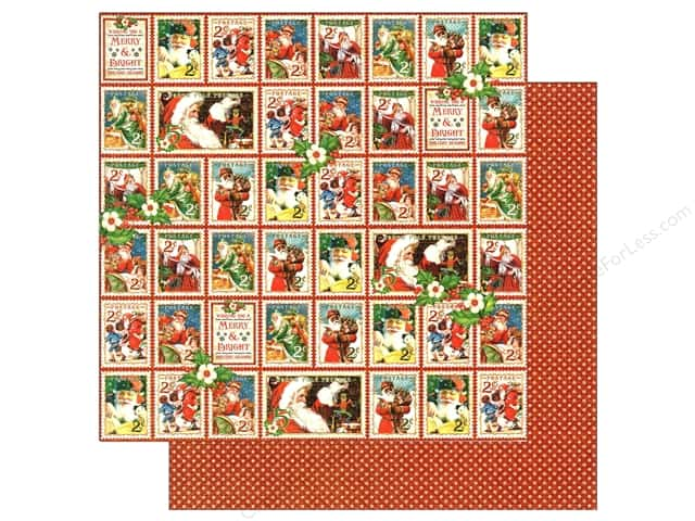 Graphic 45 12 x 12 in. Paper St Nicholas Christmas Cheer (25 sheets)