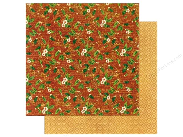 Graphic 45 12 x 12 in. Paper St Nicholas Holly Daze (25 sheets)