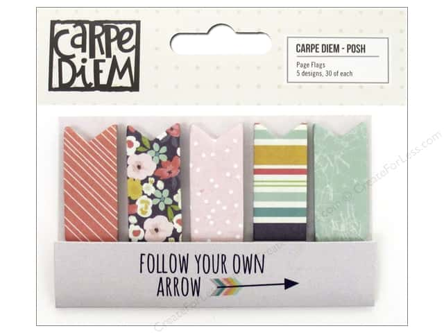 Simple Stories Collection Carpe Diem Posh Page Flags