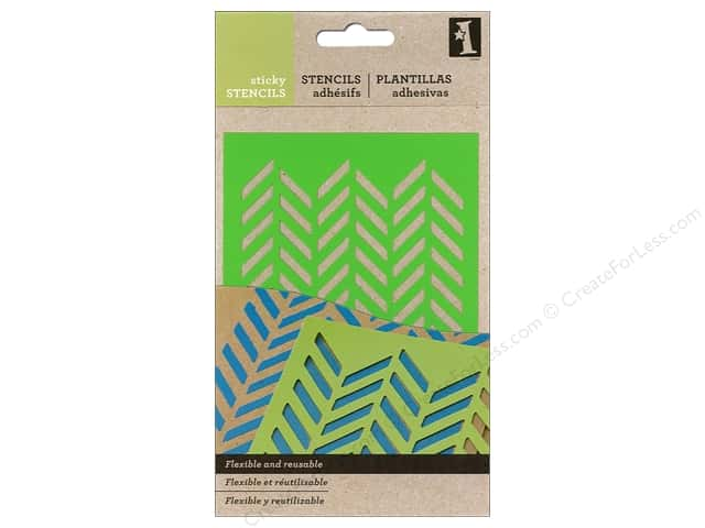 Inkadinkado Make Your Own Sticky Stencil Herringbone