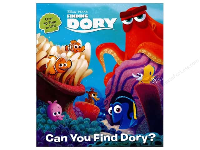 Random House Disney Can You Find Dory Book