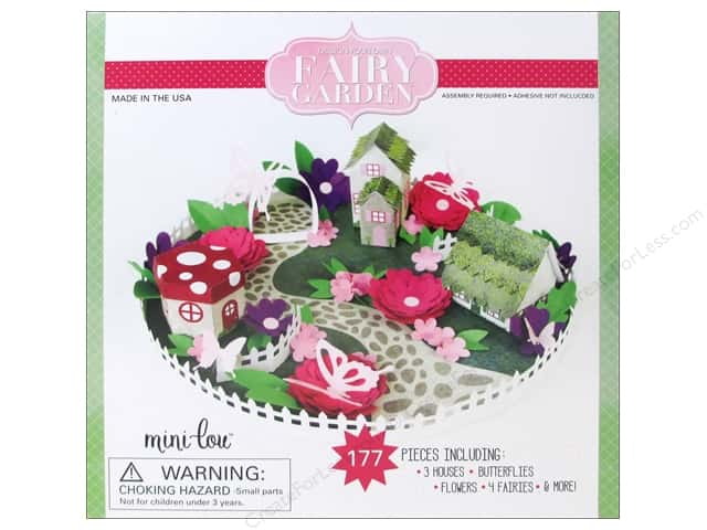 MiniLou Design Your Own Box Set Fairy Garden