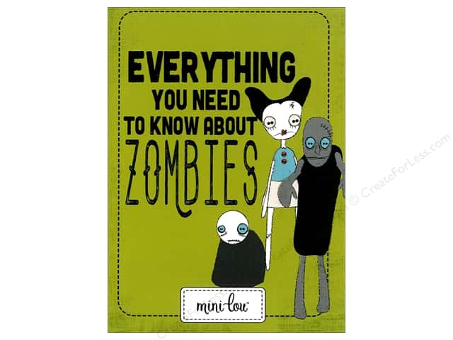 MiniLou Everything Zombies Mini Coloring Book