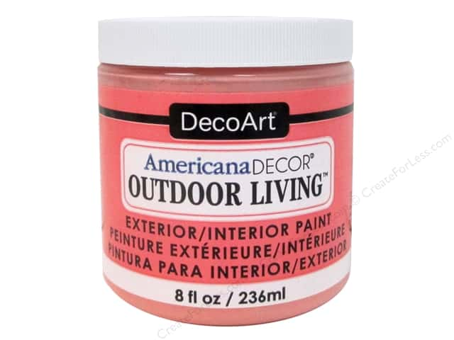 DecoArt Americana Decor Outdoor Living Exterior/Interior Paint 8 oz. Wildflower