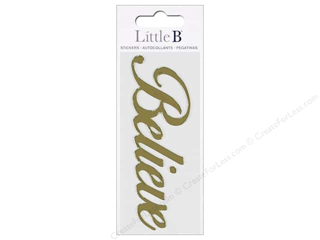 Little B Sticker Mini Believe