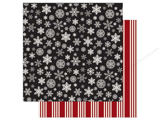 Carta Bella 12 x 12 in. Paper Christmas Delivery Christmas Snowflakes (25 sheets)