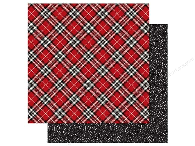 Carta Bella 12 x 12 in. Paper Christmas Delivery Christmas Plaid (25 sheets)