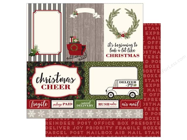 Carta Bella 12 x 12 in. Paper Christmas Delivery 4X6 Journaling Cards (25 sheets)