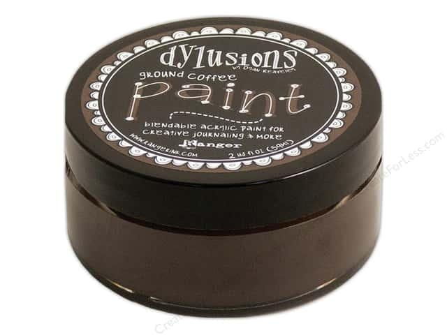 Ranger Dylusions Paint 2 oz. Ground Coffee