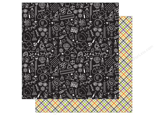 Doodlebug 12 x 12 in. Paper Boos & Brews Weird Science (25 sheets)