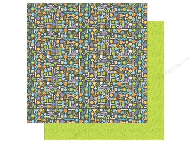 Doodlebug 12 x 12 in. Paper Boos & Brews Frankie's Lab (25 sheets)