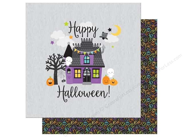Doodlebug 12 x 12 in. Paper Boos & Brews Midnight Magic (25 sheets)