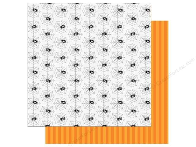 Doodlebug 12 x 12 in. Paper Boos & Brews Spooky Spiders (25 sheets)