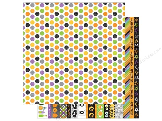 Doodlebug 12 x 12 in. Paper Boos & Brews Bubbling Brew (25 sheets)