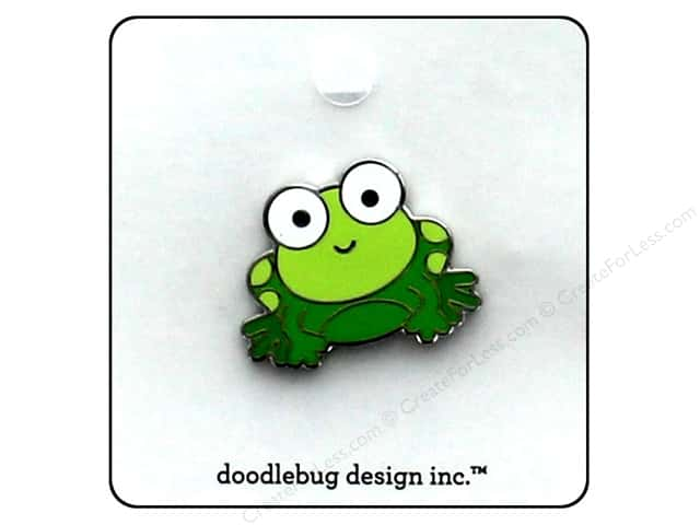 Doodlebug Enamel Pin Boos & Brews Froggy