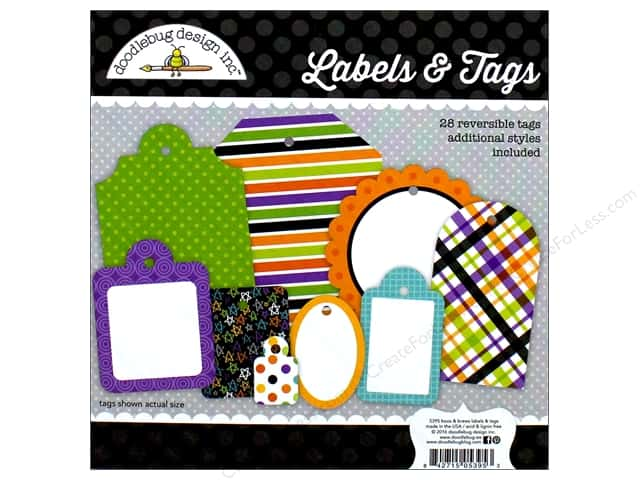 Doodlebug Labels & Tags Boos & Brews