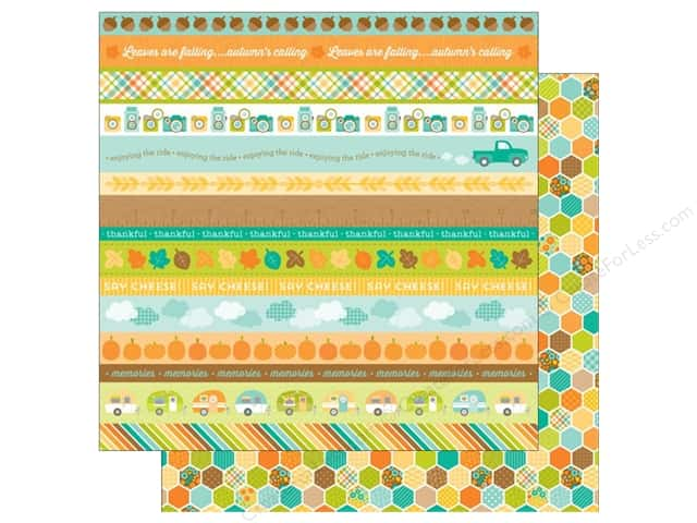 Doodlebug 12 x 12 in. Paper Flea Market Quilting Bee (25 sheets)
