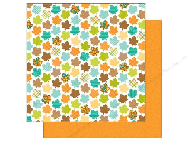 Doodlebug 12 x 12 in. Paper Flea Market Merry Maples (25 sheets)