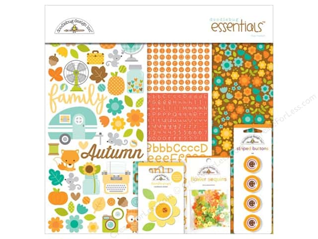 Doodlebug Essentials Kit Flea Market