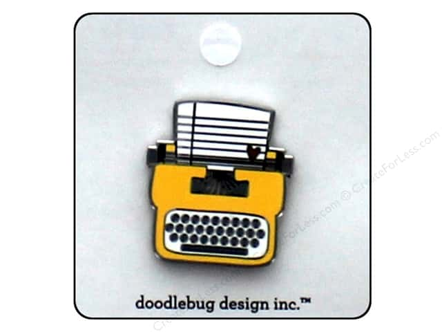 Doodlebug Enamel Pin Flea Market Tiny Type