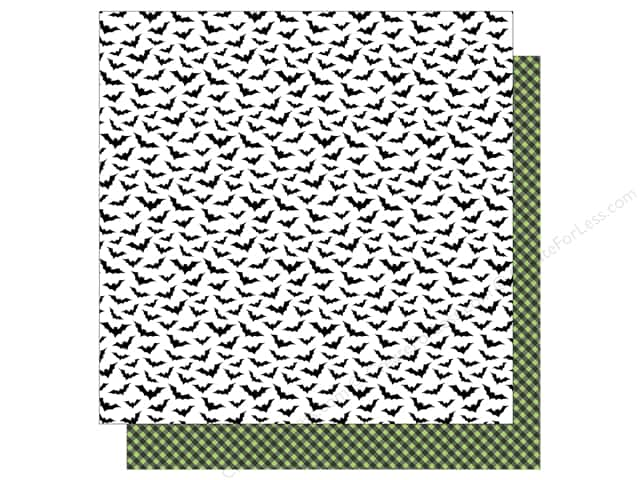 American Crafts 12 x 12 in. Paper Halloween Going Batty (25 sheets)