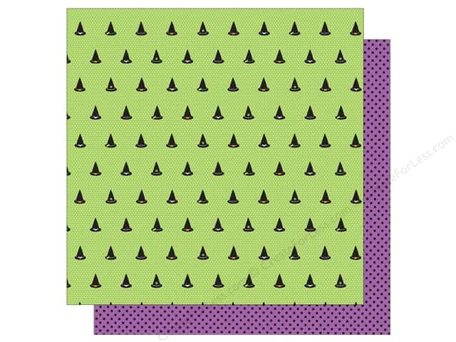 American Crafts 12 x 12 in. Paper Halloween Toil and Trouble (25 sheets)