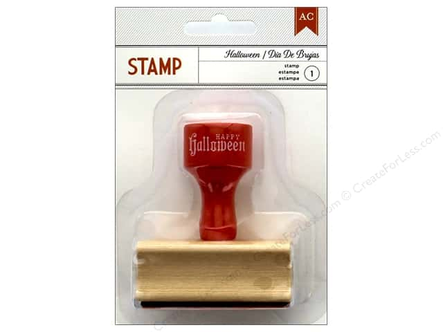 American Crafts Stamp Happy Halloween
