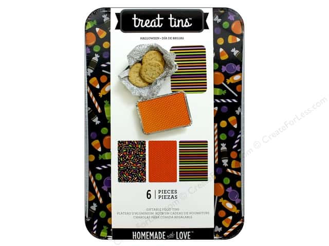 American Crafts Treat Tins 3 pc. Large Halloween