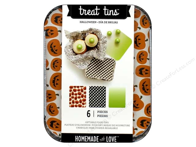 American Crafts Treat Tins 3 pc. Small Halloween