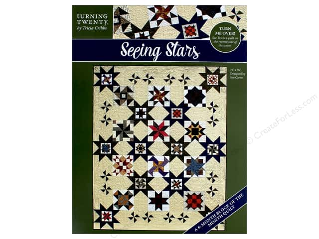Turning Twenty Seeing Stars Quilt Pattern