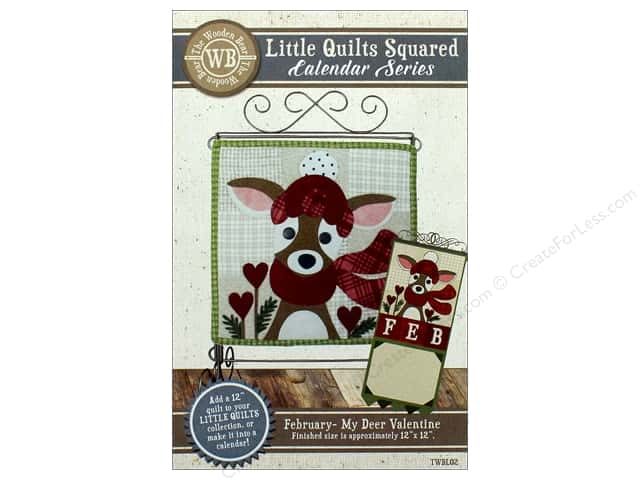 The Wooden Bear Calendar Series My Deer Valentine Pattern