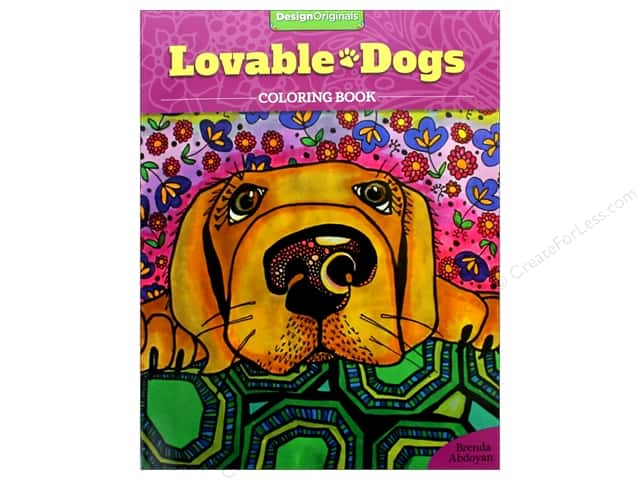 Design Originals Lovable Dogs Coloring Book