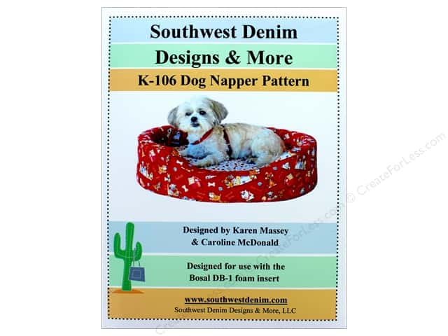 Southwest Denim Designs & More Dog Napper Pattern