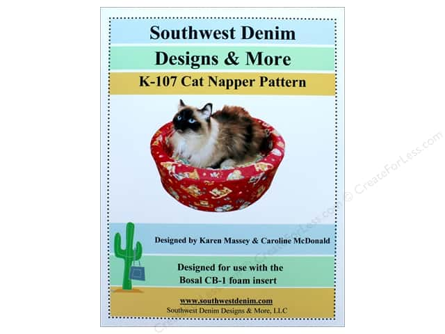 Southwest Denim Designs & More Cat Napper Pattern