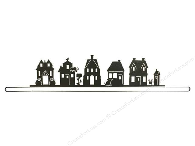 Ackfeld Craft Holder 36 in. Split Bottom Village Charcoal
