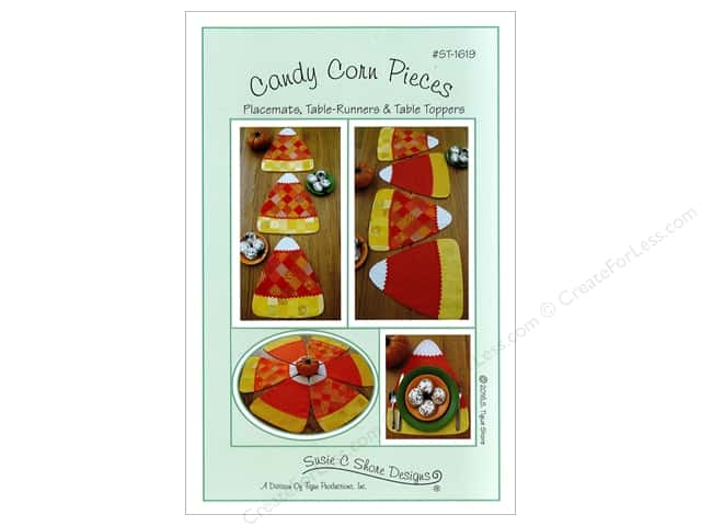 Susie C Shore Candy Corn Pieces Pattern