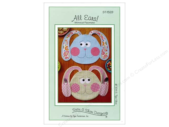 Susie C Shore All Ears! Placemat Pattern