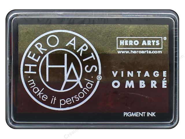 Hero Arts Ink Pad Ombre Vintage Metallic Rust