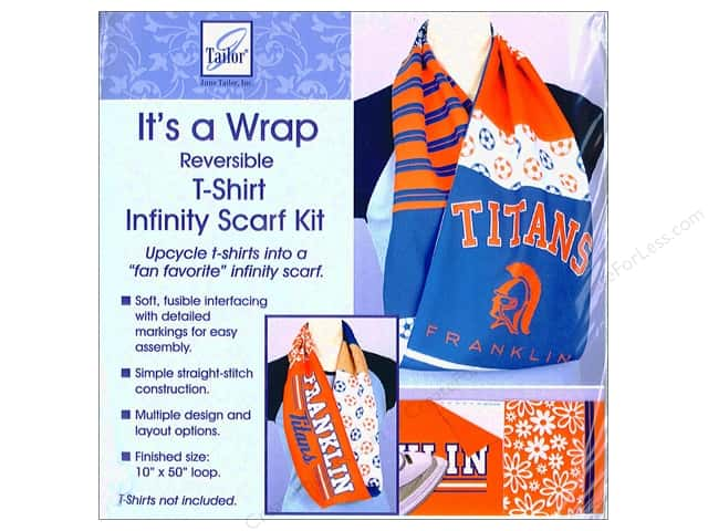 June Tailor Notions It's A Wrap t-shirt Scarf Infinity