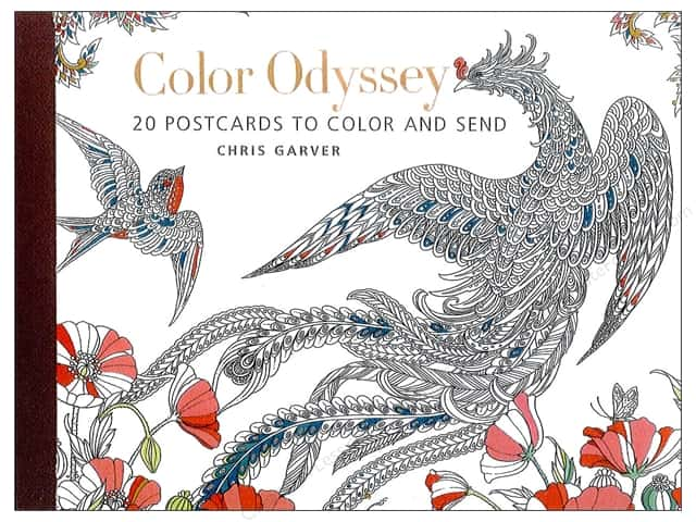 Get Creative 6 Color Odyssey Postcards 20 pc.