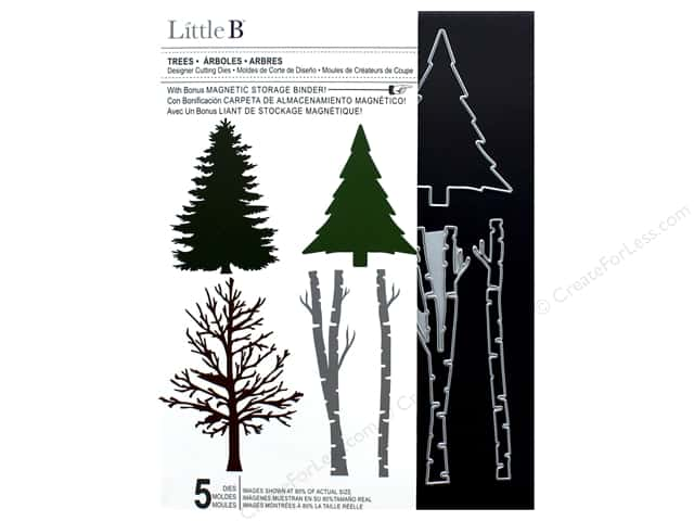 Little B Cutting Dies Designer Trees