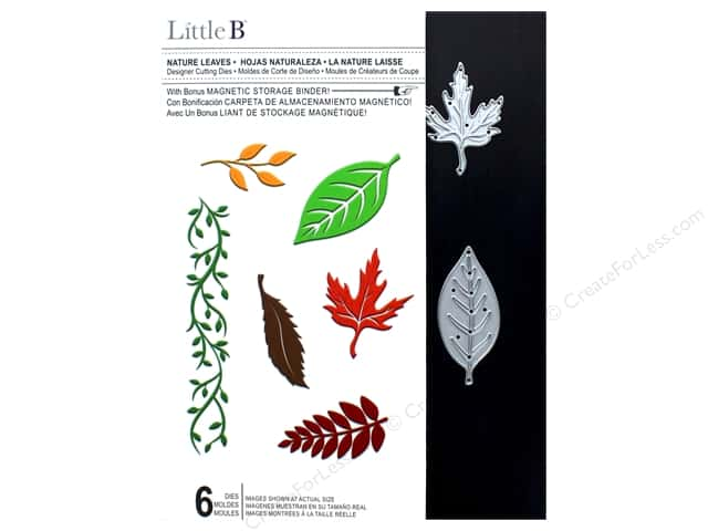 Little B Cutting Die Nature Leaves