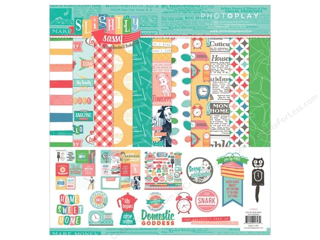 """Photo Play Collection Slightly Sassy Collection Pack 12""""x 12"""""""