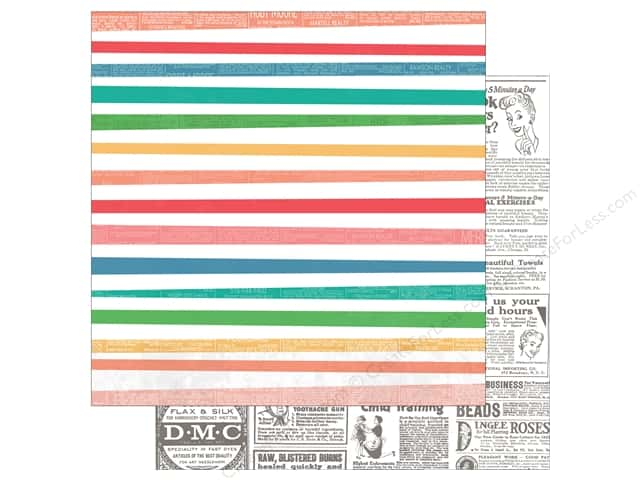 """Photo Play Collection Slightly Sassy Paper 12""""x 12"""" Classifieds (25 sheets)"""
