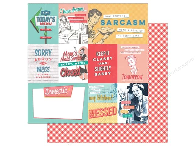 "Photo Play Collection Slightly Sassy Paper 12""x 12"" Sassy Cards (25 sheets)"