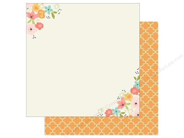 Simple Stories 12 x 12 in. Paper Posh Choose Happy (25 sheets)